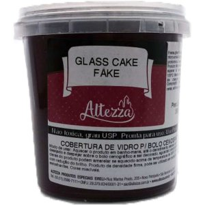 Artigo Para Festa Glass Cake Fake Chocolate 390g Altezza
