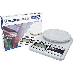 Balança Eletrônica Precisao Digital Ate 10kg Bco Santana Centro