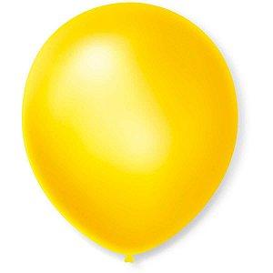 Balão Cintilante N.070 Amarelo Sao Roque