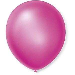 Balão Cintilante N.070 Rosa Sao Roque