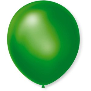 Balão Cintilante N.070 Verde Sao Roque