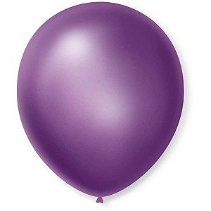 Balão Cintilante N.070 Violeta Sao Roque
