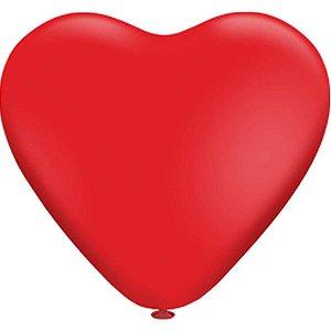 Balão Coração N.010 Coracao Vermelho Riberball