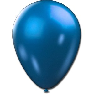 Balão Metalizado N.090 Azul Sao Roque