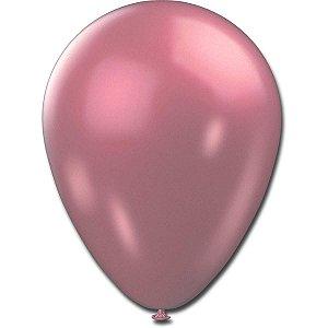 Balão Metalizado N.090 Rosa Sao Roque