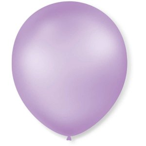 Balão Perolado N.070 T. Pastel  Lilás Sao Roque