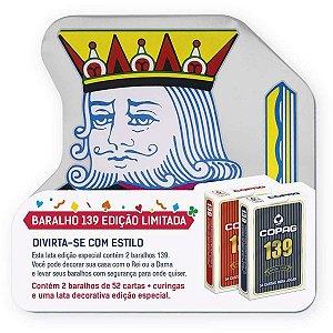 Baralho 139 O Rei Do Baralho C/02 Copag