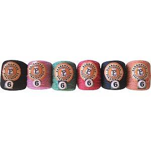 Barbante Colorido 50g 6 Fios Rolo 52m Color Barb. Piratininga
