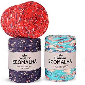 Barbante Ecomalha Estampa Floral Classica 140m Euroroma