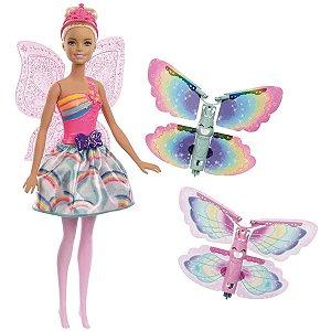 Barbie Fan Barbie Fada Asas Voadoras Mattel