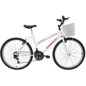 Bicicleta Aro 26 Serena C/Cesta 18v. Bc Track Bikes