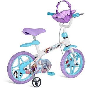Bicicleta Frozen Ii Aro 12 Brinq. Bandeirante