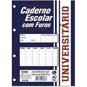 Bloco Para Fichário 1/4 Monobloco Branco 96f.140x210 Sao Domingos