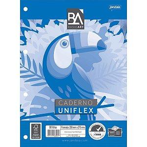 Bloco Para Fichário Universitário Uniflex 96fls. Jandaia