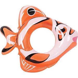 Boia Inflável Fish Ring Redonda 79cm. 3-5ano Jilong