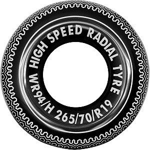 Boia Inflável Redonda Tyre Swim Tube 90cm. Jilong