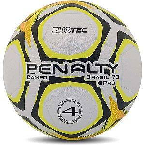 Bola De Futebol De Campo Brasil 70 Nâ°4 Bc-Am-Pt Penalty