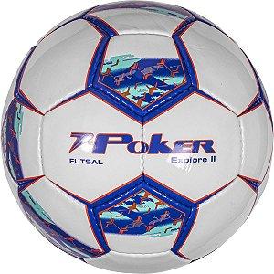 Bola De Futsal Explore Ii C/C Pvc Soft 32 Gom Poker