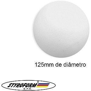 Bola De Isopor (Eps) 125mm Pacote C/06 Bolinhas Styroform