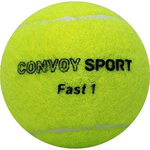 Bola De Tênis Amarela C/3 Yins
