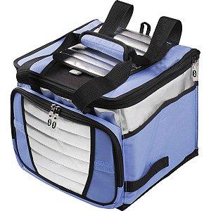 Bolsa Térmica Cooler 24lts.C/Alca Az/Cz Sort Mor