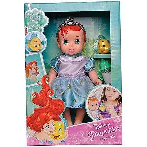 Boneca Baby Ariel C/ Pet E Mamadeira Mimo