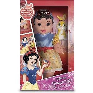Boneca Baby Branca De Neve C/Pet E Ma Mimo