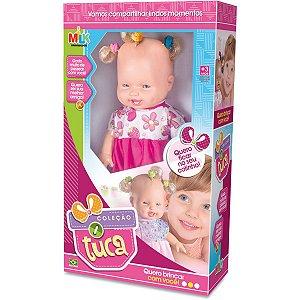 Boneca Baby Tuca 34cm. Milk