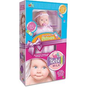 Boneca Bebe Milk 48cm Milk