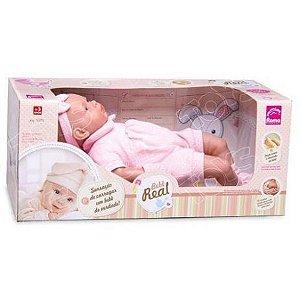 Boneca Bebe Real 52cm. Roma