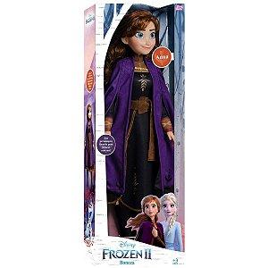 Boneca Frozen 2 Disney Anna 80cm Baby Brink