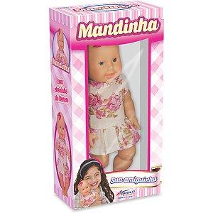 Boneca Mandinha Cheiro De Nenen 27cm Apolo