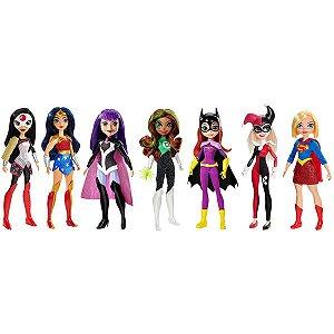 Boneco E Personagem Dc Super Hero Girls Bon.Acao S Mattel