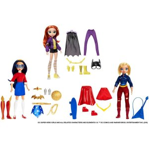 Boneco E Personagem Dc Super Hero Girls Vida Adole Mattel
