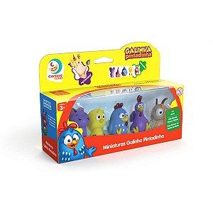 Boneco E Personagem Galinha Pintadinha Miniaturas Cardoso Toys