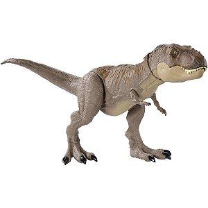 Boneco E Personagem Jurassic World Mordida Feroz Mattel