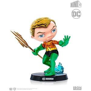 Boneco E Personagem Minico Aquaman Comics 14cm. Piziitoys