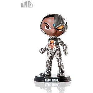 Boneco E Personagem Minico Cyborg Liga Just.14cm Piziitoys