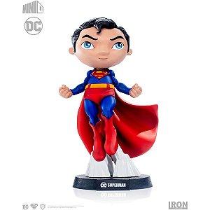 Boneco E Personagem Minico Superman Comics 14cm. Piziitoys