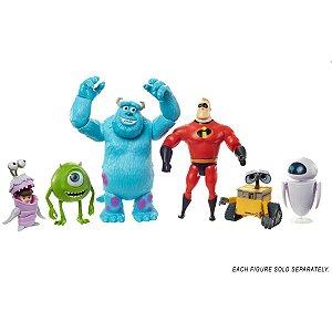 Boneco E Personagem Pixar Figuras Em Ação Sort. Mattel