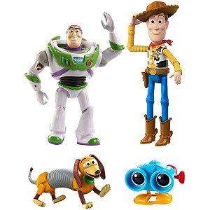 Boneco E Personagem Toy Story Bau Brinquedos Andy Mattel