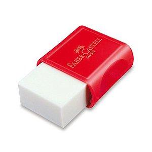 Borracha Branca Fc Max Pequena Plastica Vermel Faber-Castell