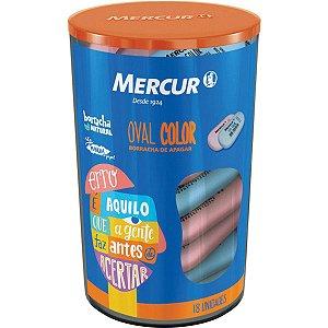 Borracha Colorida Oval Color 18 Mercur