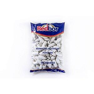 Borracha Ponteira Branca 100 Red Bor