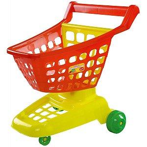 Brincando De Casinha Carrinho Supermercado Dismat