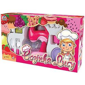 Brincando De Casinha Cozinha Lucy Batedeira Braskit