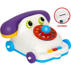 Brinquedo Educativo Maxphone Cofrinho Merco Toys