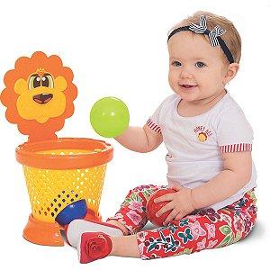 Brinquedo Para Bebê Basket Ball Baby Merco Toys