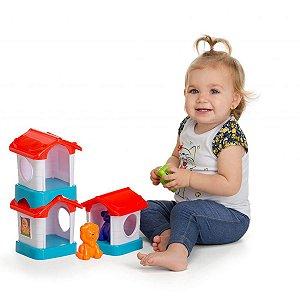 Brinquedo Para Bebê Casinha Home Pet Tateti