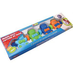 Brinquedo Para Bebê Mobile P/Carrinho De Bebe Sort Pais E Filhos